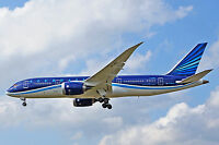 If78780917 1/200 Azerbaijan Airlines Azal-ahy B787-8 Dreamliner Vp-bbs W/stand