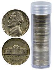Roll of 40- $2 Face Value- Jefferson War Nickels 35% Silver (1942-1945) SKU36093