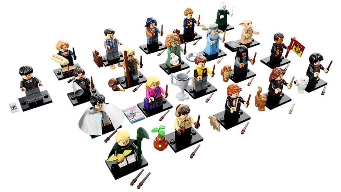 YRTS Lego 71022 Sin Figura 22,Harry Potter™ y Animales Fantásticos 21 Minifigura