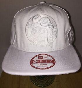 1033028569e11 SOLES INC. New Era 9Fifty A-Frame ALL WHITE Hat Cap Snapback Medium ...