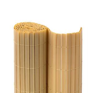 Premium-Sichtschutzmatte-Sichtschutz-Zaun-Balkon-Farbe-Bambus-220x500-cm-B-Ware
