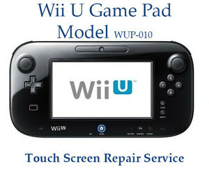 nintendo wii u gamepad controller touch screen repair service with new parts ebay. Black Bedroom Furniture Sets. Home Design Ideas
