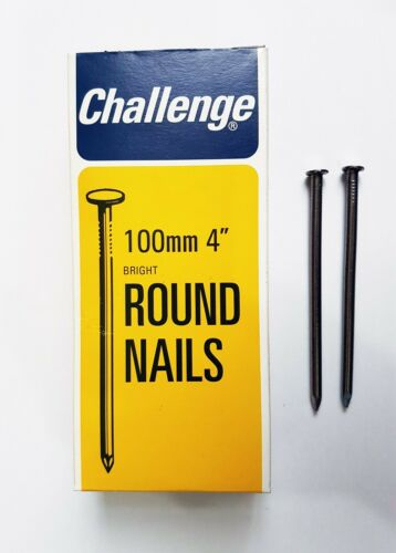 "4/"" DIY Wood Nails Round Head Used For Wood Constructions"