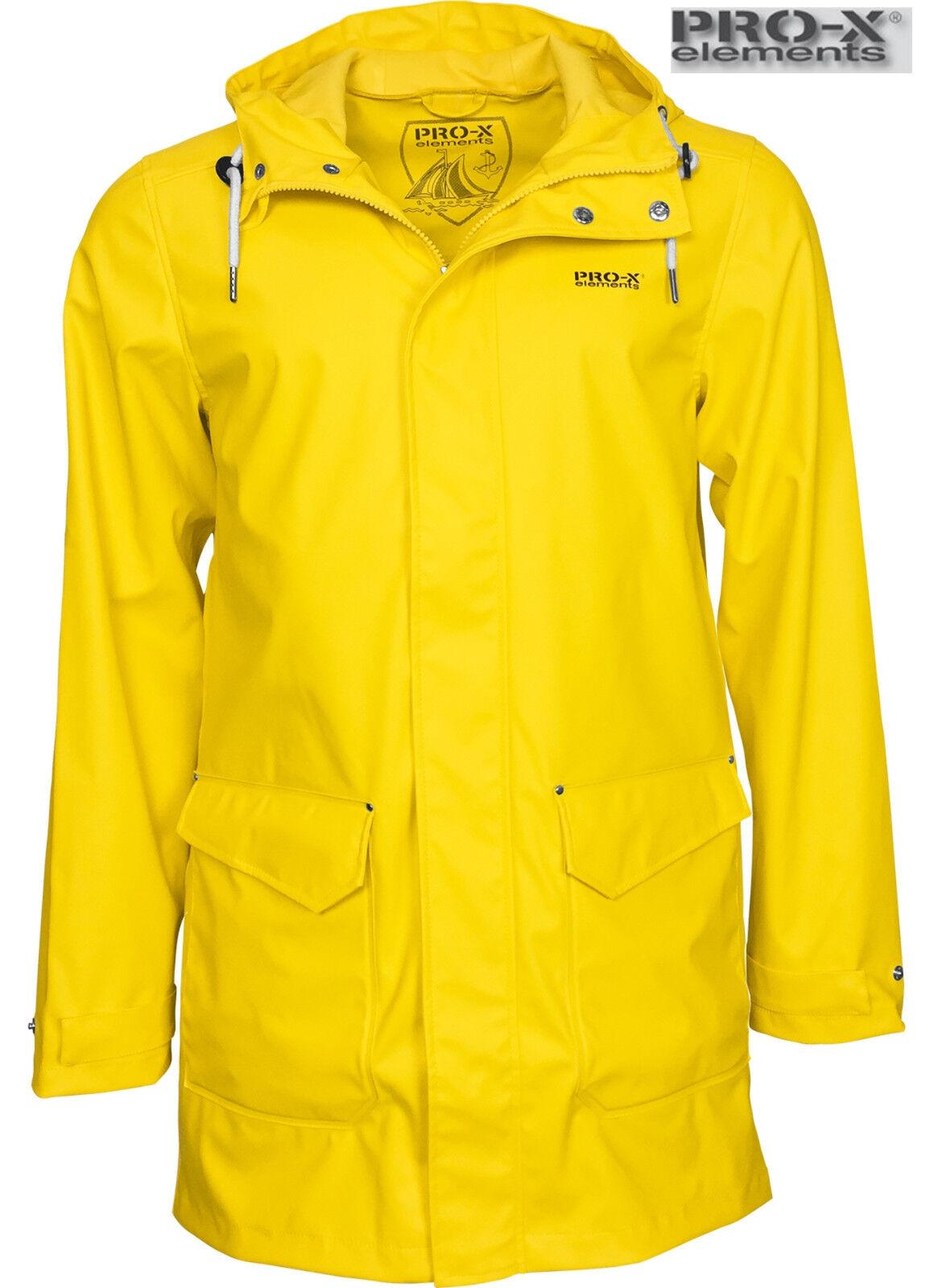 PRO-X ELEMENTS AMRUM PU leichter Ostfriesennerz Friesennerz Regenmantel Raincoat | | | Zürich Online Shop  967672