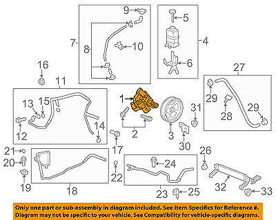 GM OEM-Power Steering Pressure Hose 15295841