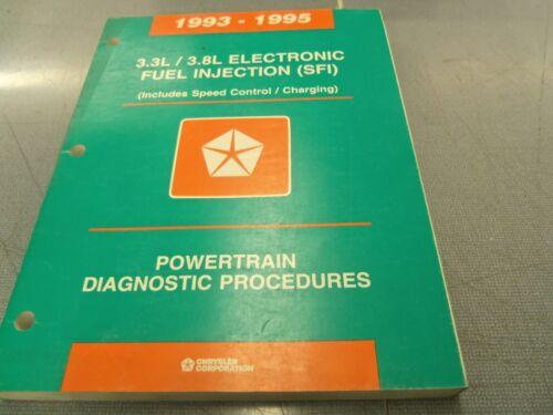 1993-1995 Chrysler 3.3 L 3.8 L Electronic Fuel Injection  Diagnostic Manual