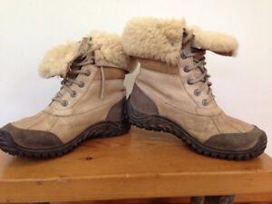 2502643aa78 Ugg 1909 Waterproof Sheep Fleece Shearling Adirondack Hiking Duck ...