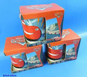 STOR-Disney-Pixar-Cars-Taza-Taza-de-porcelana-en-Regalo-Set-3-Pieza