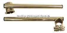 34mm forcelle CLIP DI BICROMATO DI POTASSIO SU 2.2cmHANDLEBARS per CAFE RACER