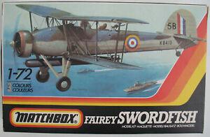 MATCHBOX-PK-112-Fairey-Swordfish-1-72-Flugzeug-Bausatz-KIT-2