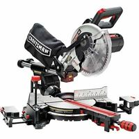 Craftsman 10'' Single Bevel Sliding Compound Miter Saw Cutting Laser Remodel