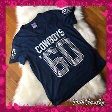 item 4 VICTORIA S SECRET PINK Dallas Cowboys NFL Football Collection  Varsity Jersey Lrg -VICTORIA S SECRET PINK Dallas Cowboys NFL Football  Collection ... 52e2d2507