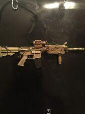 BBI 1/6 Scale Jerry Elis (TAN) M4A1 Carbine W/crane Stock AN/PEQ2
