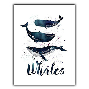 Details about WHALES humpback blue SIGN METAL PLAQUE quote art nature sea  oceans