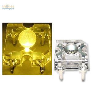10-Superflux-Leds-Yellow-Piranha-3mm-Yellow-Jaun-Spider-LED-Mega-Bright