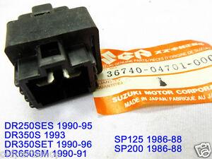 details about suzuki dr250 dr350 dr650 fuse box assy nos sp125 sp200 fuse holder 36740 04701 suzuki dr650 problems dr650 fuse box #9