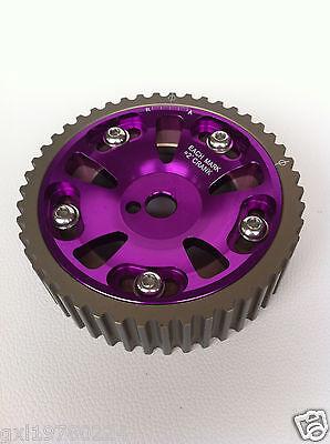 Adjustable MITSUBISHI 4G93 Cam Gear Pulley purple