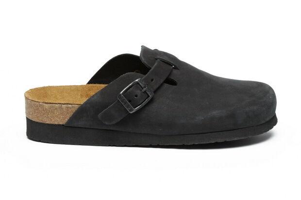 Naot Aviv Men Slip On Clogs Leather shoes Wedge Slides Wedge Slippers New