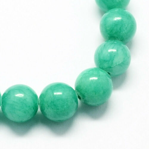 20 Jade Beads 4mm Aquamarine Gemstone Beads 4mm Set of 20 BD963