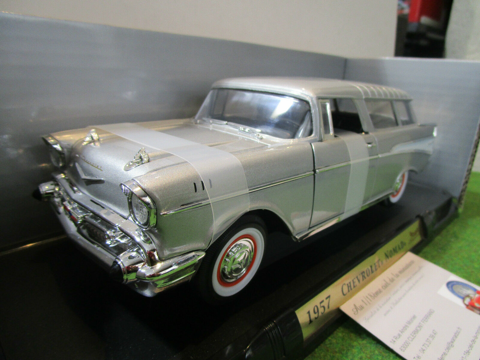 precio razonable CHEVROLET NOMAD de 1957 gris gris gris au 1 18 YATMING 92088 voiture miniature  apresurado a ver