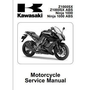 '03-'06 Kawasaki Z1000 service manual | eBay