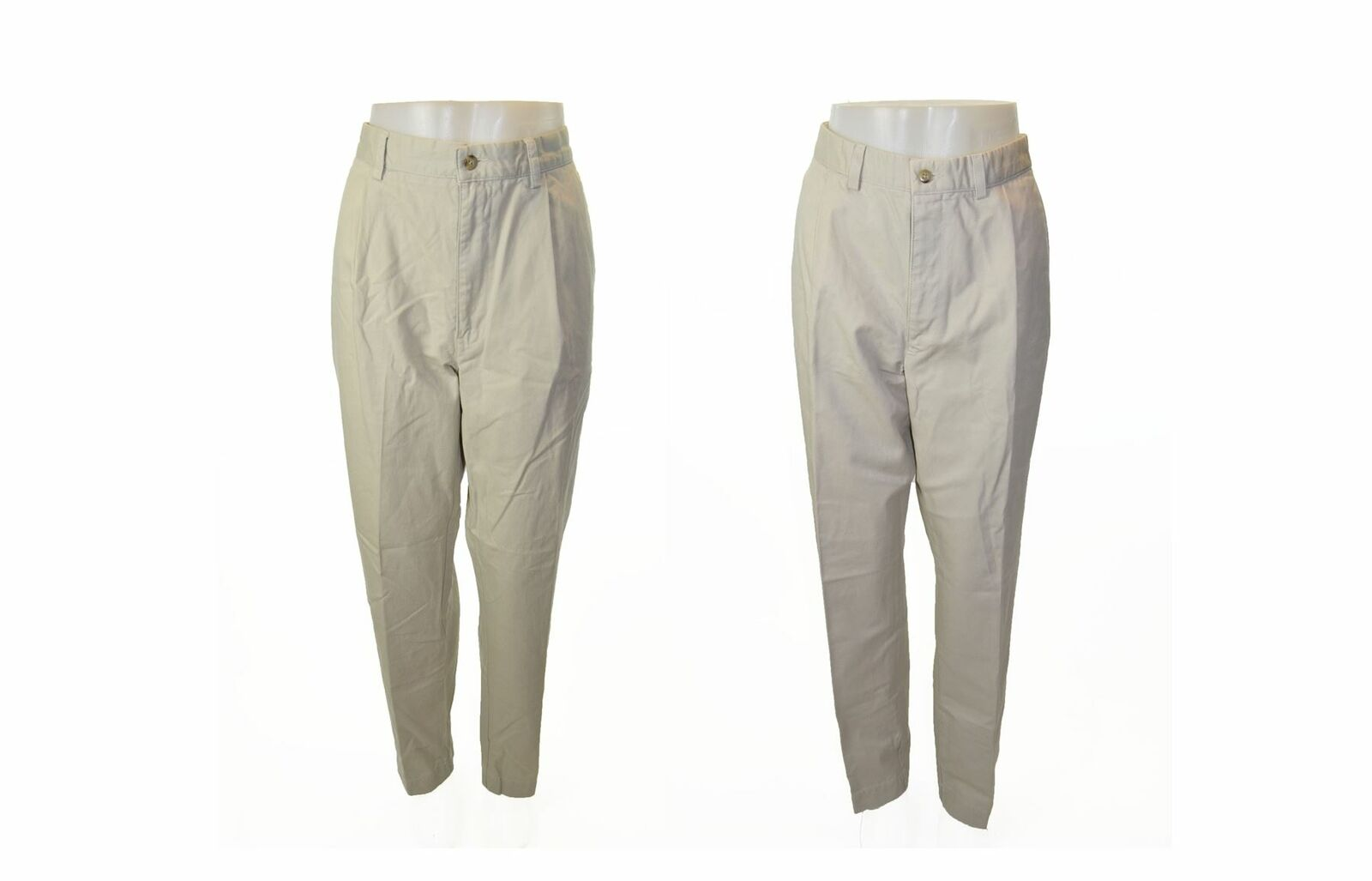 RALPH LAUREN Polo Cream 100% Cotton Chinos Bundle Of Of Of Two UK 36 US 36 EU L b82629