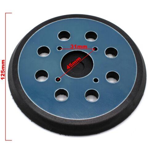 Klett Stützteller 125mm Schleifteller f Ryobi RS240 RS241 RS280 RS 2418 112 115