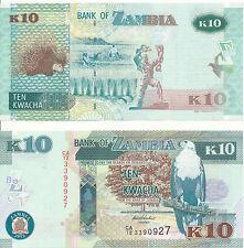 Sambia / Zambia - 10 Kwacha 2012 UNC - Pick 51a