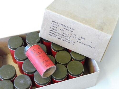 U.S 1943 wax ski Army WWII 1 piece from original box unopened