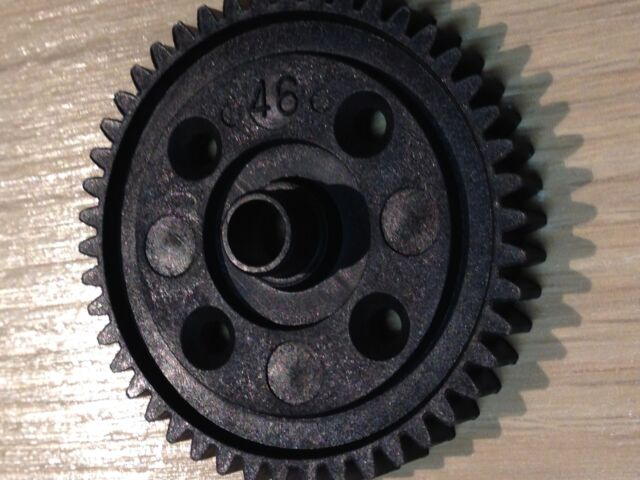 KYOSHO INFERNO MP7.5, NEO, NEO 2, NEO 3, SPUR/ MAIN PLASTIC GEAR 46 TEETH, IF148