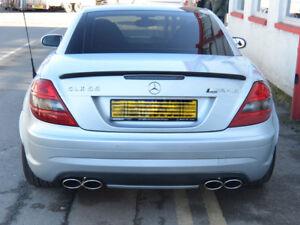 Mercedes-R171-SLK-Sport-Exhaust-SLK200-SLK280-SLK350-4-Pipe-Quad-Oval-SLK55