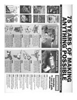 2000 Craftsman Tool History Instructions