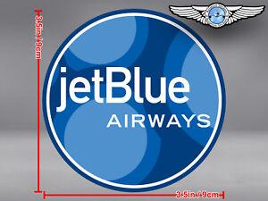 JETBLUE-AIRWAYS-JET-BLUE-ROUND-BUBBLES-LOGO-DECAL-STICKER