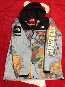 281e00b7d Details about Supreme x The North Face map sizeS MEN JACKET COAT VERY RARE  AUTHENTIC SMALL F/S