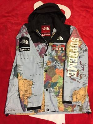 Supreme X The North Face Map SizeS MEN JACKET COAT VERY RARE
