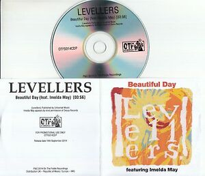 THE-LEVELLERS-feat-IMELDA-MAY-Beautiful-Day-2014-UK-1-track-promo-test-CD