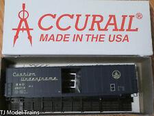 Accurail 5826 HO 50' Welded Plug Door Steel Boxcar (kit) B&o MODELRRSUPPLY