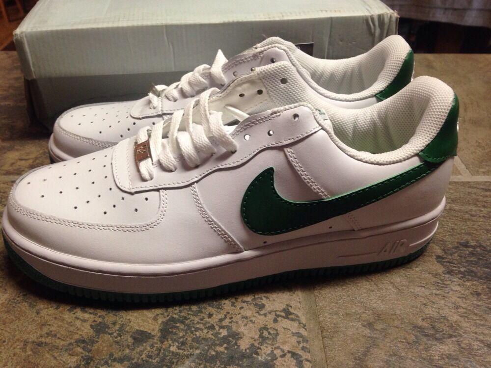 Nike / Air Force '06 XXV blanco / Nike verde AF1 -' 82 Hombre 9,5 Sneakers 315092-131 nueva marca de descuento 54f3d5