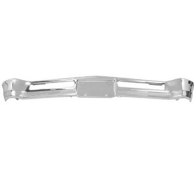 New Triple Chrome Plated Steel Rear Bumper for 1966-1967 Chevy II Chevrolet Nova