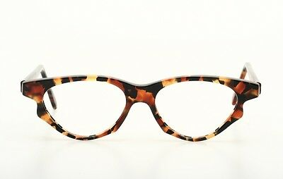 Extraordinary, chic Vintage eyeglasses, beautiful tortoise coloration N91K