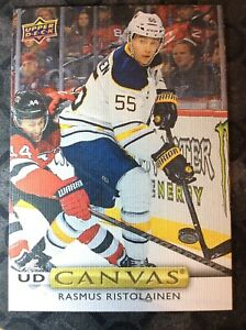 UPPER-DECK-2019-2020-SERIES-ONE-RASMUS-RISTOLAINEN-CANVAS-HOCKEY-CARD-C-9