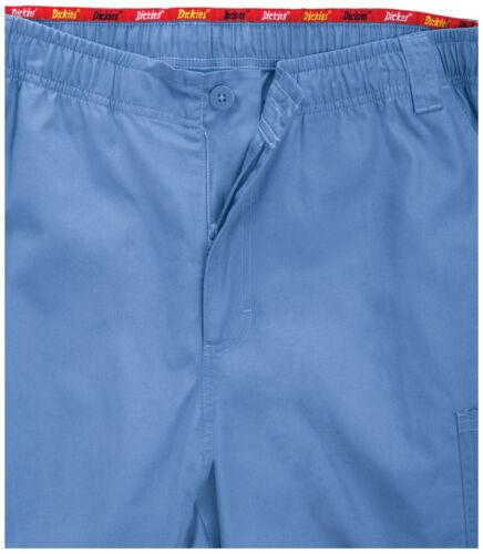 Hunter Green Dickies Scrubs EDS Mens Zip Fly Pull On Pants 81006 HUWZ