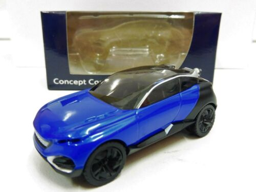 """PEUGEOT Concept Car Quartz Bleu 1//64 /""""3 Inche/"""" Norev Neuf /""""Groupé la Livraison/"""""""