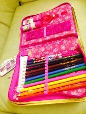 Official Disney Store Frozen Relleno Suave Estuche estacionario Colores Pen Set