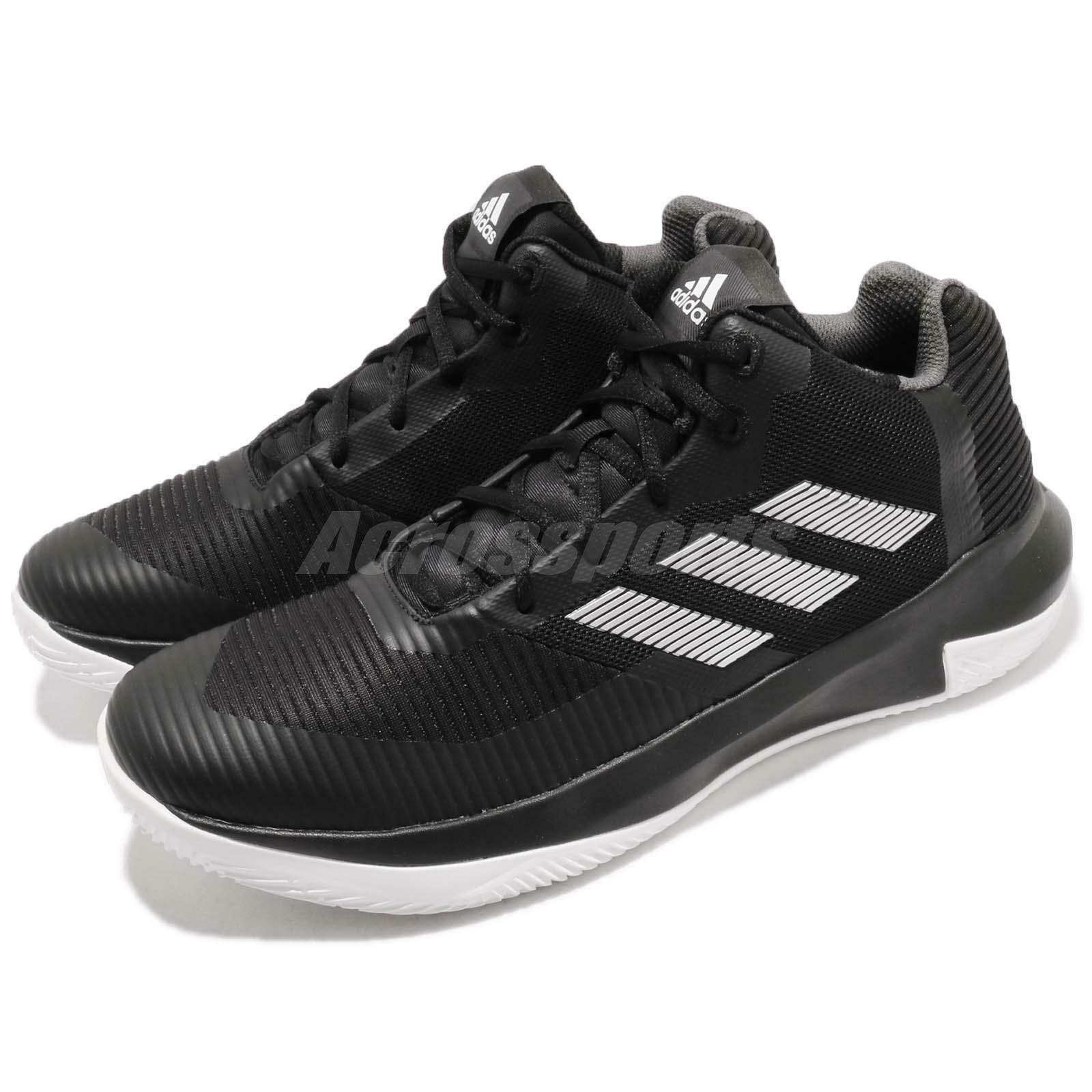 Adidas D pink Lethality Derrick Black White Mens Basketball shoes Sneaker AQ0043