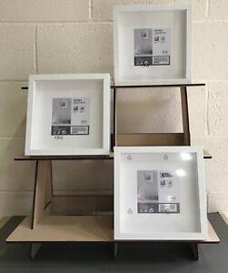 Details about Y223 XXL IKEA Ribba Frame Display Shelf Stand BOX CRAFT FAIR  TABLE SHELF POS
