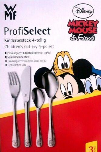 WMF Profi Select Kinderbesteck 4-teilig Mickey Mouse /& Friends Set Maus