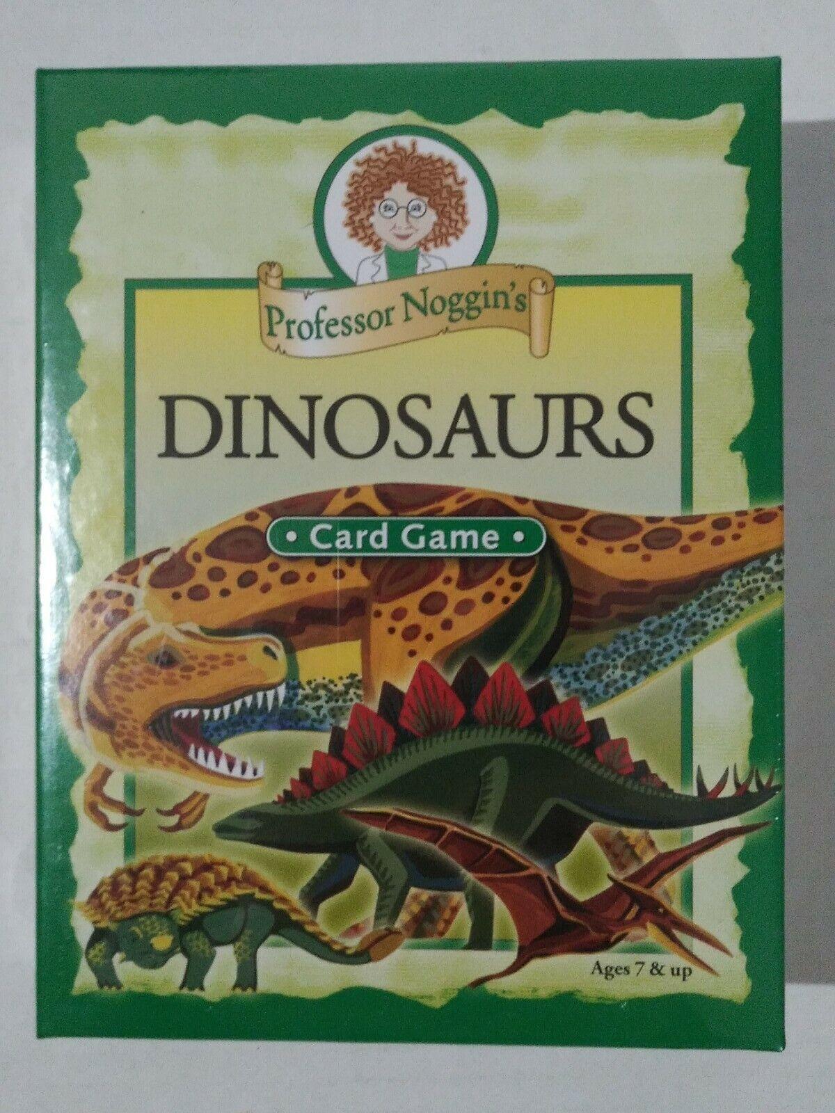 Outset Media 103508 Professor Noggin Dinosaurs Card Game For Sale Online Ebay
