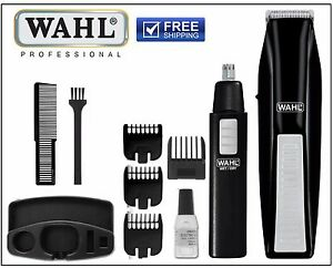 wahl man beard trimmer nose trimmers shavers clippers hair cut face grooming kit ebay. Black Bedroom Furniture Sets. Home Design Ideas