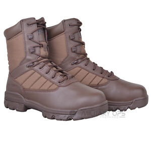 426b89fa7d8 BRITISH ARMY ISSUE BATES TACTICAL BOOTS SPORTS 8 INCH BROWN COMBAT ...